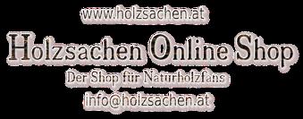 Online Shop Holzsachen-Logo